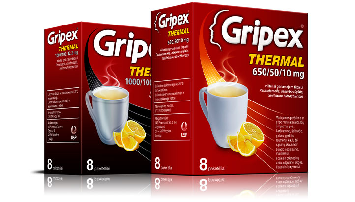 Kas yra <b>Gripex Thermal</b>